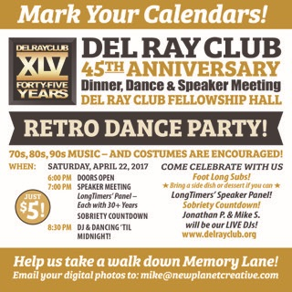 Del Ray Club 45th_FLYER_TOP BAR